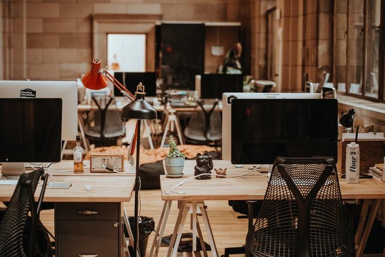 computers in kantoor